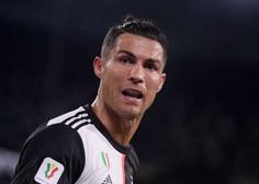 Cristiano Ronaldo postal rekorder po doseženih zadetkih na uradnih tekmah