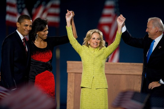Prva dama ZDA je tekačica, maratonka, ki posluša Brucea Springsteena