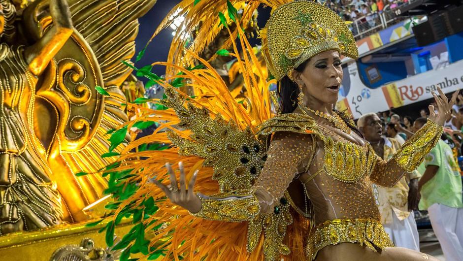 Pandemija letos odnesla sloviti karneval v Riu de Janeiru (foto: profimedia)