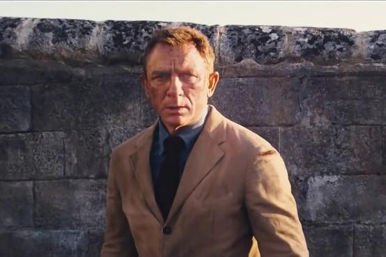 Premiera novega filma o Jamesu Bondu ponovno odložena zaradi epidemije