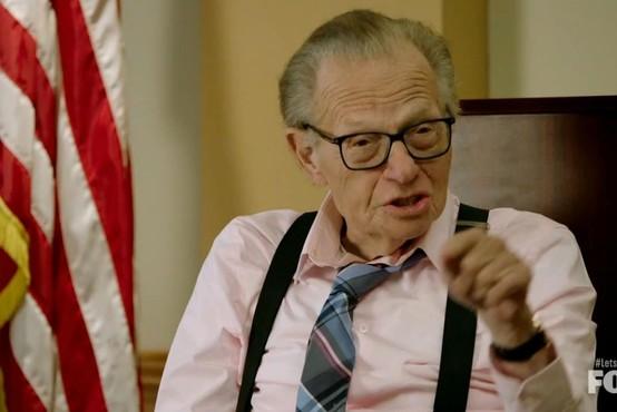 Poslovil  se je znameniti ameriški voditelj pogovornih oddaj Larry King