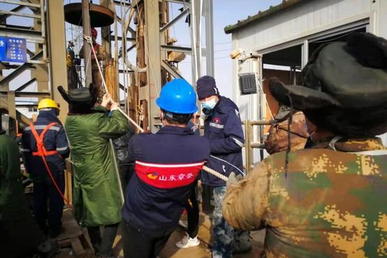 Iz rudnika zlata na Kitajskem rešili enajst ujetih rudarjev
