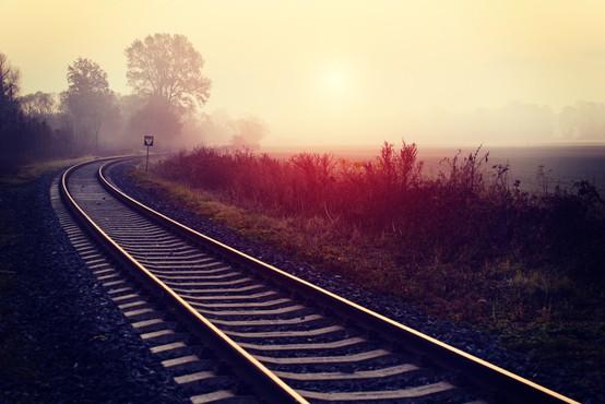 Na Viču v Ljubljani vlak ponoči povozil moškega