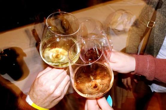 Prebivalec Slovenije v minulem letu v povprečju spil manj vina