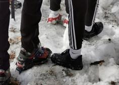 """Športni dan """"na daljavo"""" je na Jesenicah terjal posredovanje gorskih reševalcev, ki so reševali dve učenki"""