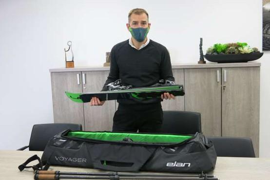 Elan predstavil prve visoko zmogljive zložljive vsestranske karving smuči na svetu
