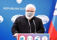 Krek: Padec števila okužb se je v Sloveniji ustavil, možen je tretji val