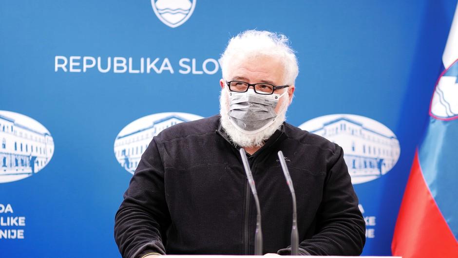 Krek: Padec števila okužb se je v Sloveniji ustavil, možen je tretji val (foto: Daniel Novakovič/STA)