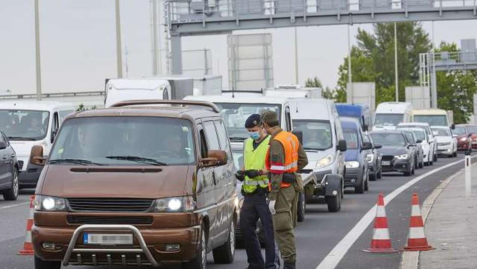 Za vstop v Avstrijo obvezen negativen test tudi za dnevne migrante (foto: Xinhua/STA)