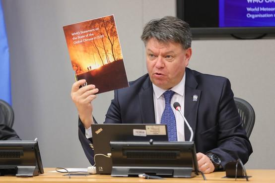 Evropejec leta 2021 je meteorolog Petteri Taalas