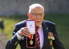 Umrl britanski dobrodelni junak stotnik Tom