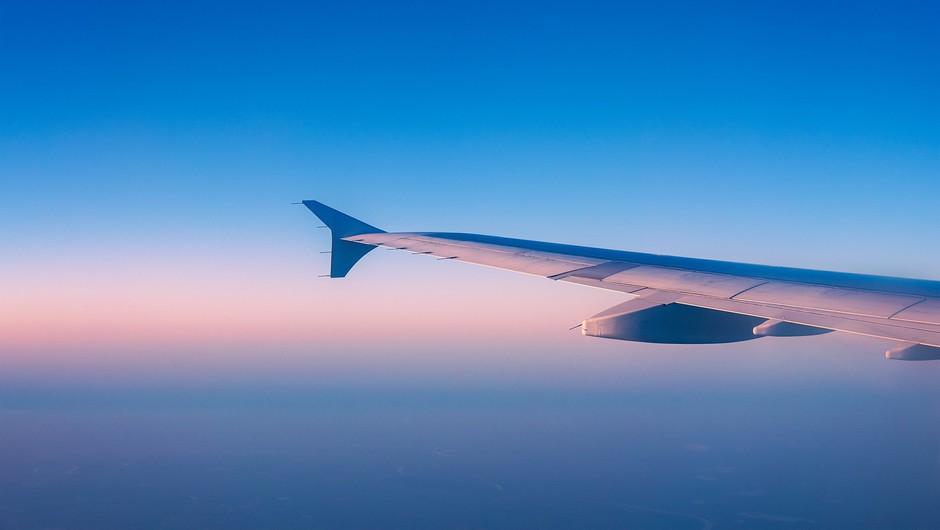Število letalskih potnikov lani upadlo za 66 odstotkov (foto: Profimedia)