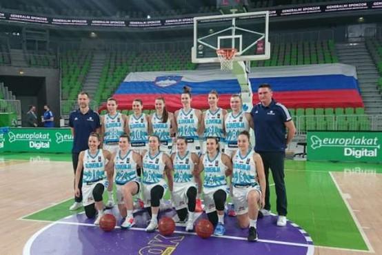 Slovenske košarkarice tretjič zapored udeleženke evropskega prvenstva