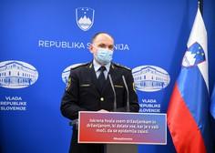 Policija ob nadzoru epidemioloških ukrepov v tednu dni izdala 551 plačilnih nalogov
