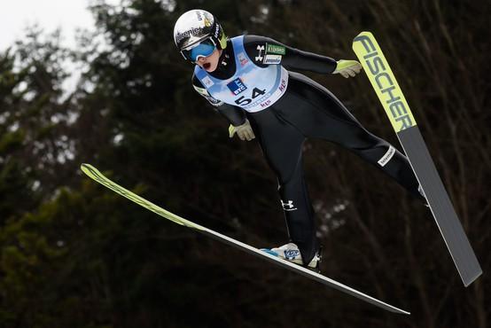 Nika Križnar in Ema Klinec poskrbeli za dvojno zmago v Avstriji