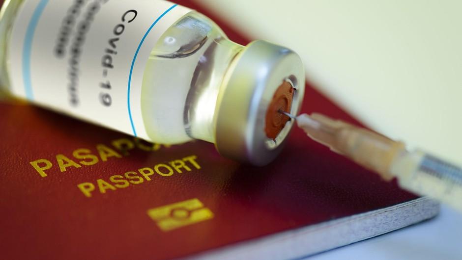 Potni listi o cepljenju proti covidu-19 vzbujajo tudi pomisleke o diskriminaciji (foto: profimedia)