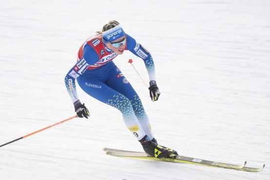 Anamarija Lampič in Eva Urevc do prve ekipne zmage v sprintu