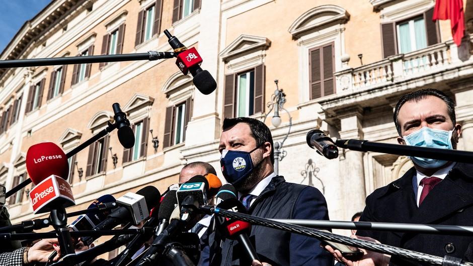 Nekdanji prvi mož Evropske centralne banke Mario Draghi uspešen v prvem krogu pogajanj (foto: profimedia)