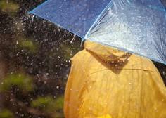 Dež in taljenje snega sta na Gorenjskem povzročala težave
