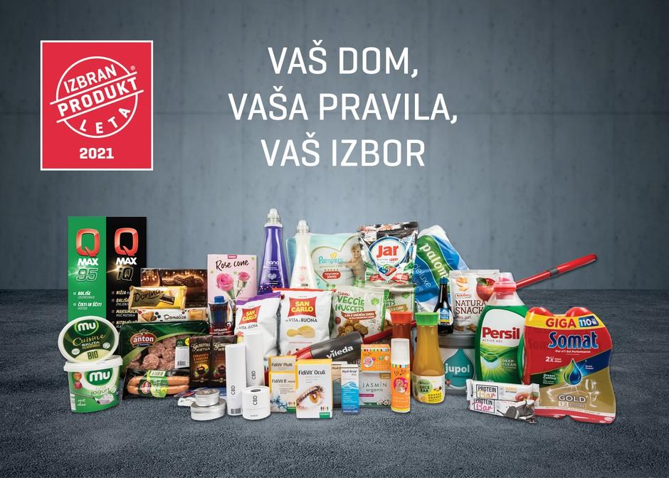 Izbrani so novi in inovativni izdelki, ki so prepričali slovenske kupce (foto: PROMO)