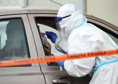 Na Hrvaškem zabeležili prve tri okužbe z britansko različico novega koronavirusa