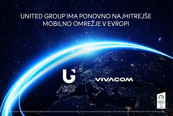 United Group ima ponovno najhitrejše mobilno omrežje v Evropi