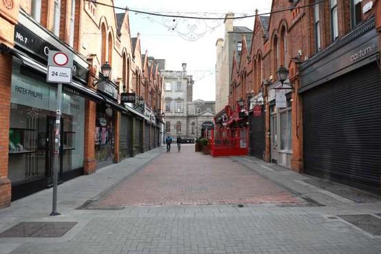 Na Irskem naj bi tretje zaprtje države podaljšali do aprila