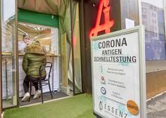 Na Dunaju brezplačni testi PCR z grgranjem za domačo uporabo