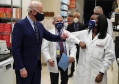 Biden napoveduje cepljenje 300 milijonov Američanov do konca poletja in takrat konec pandemije