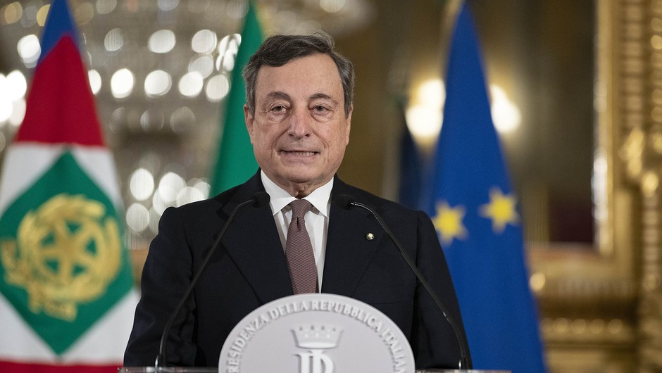 Novi italijanski premier Mario Draghi predstavil ministrsko ekipo (foto: profimedia)