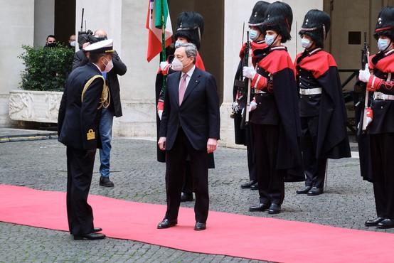 V Rimu prisegla nova vlada pod taktirko Maria Draghija
