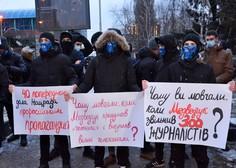 Rusi ne popuščajo in so  v podporo Alekseju Navalnemu kljub mrazu spet na ulicah