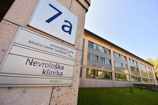Na nevrološki kliniki v času epidemije manj bolnikov z lažjimi možganskimi kapmi