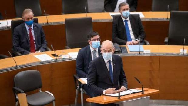 Erjavcu ni uspelo, nezaupnica Janševi vladi ni bila izglasovana (foto: Nebojša Tejić/STA)