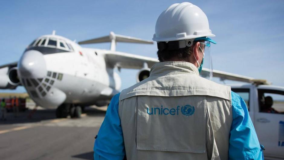 UNICEF in vodilne letalske družbe združujejo moči pri dostavi cepiv po vsem svetu (foto: UNICEF)