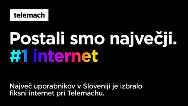 Telemach postal vodilni ponudnik fiksnega interneta (foto: Telemach)