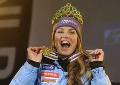 Tina Maze pred desetimi leti samostojni Sloveniji prismučala prvo zlato na svetovnih prvenstvih