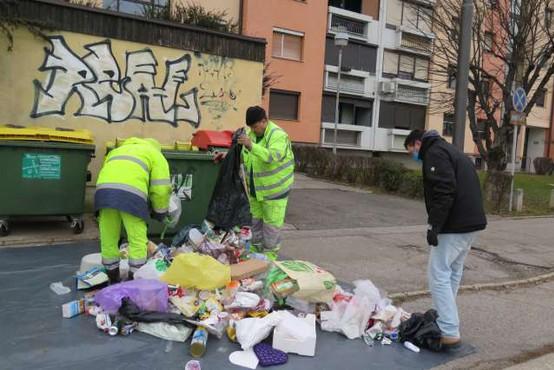 """""""Ni mi treba ločevat odpadkov, saj živim v bloku in me ne morejo kaznovat"""""""