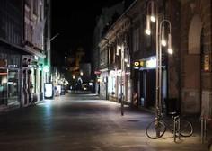 Vlada podaljšala nekatere ukrepe, med drugim omejitev gibanja ponoči