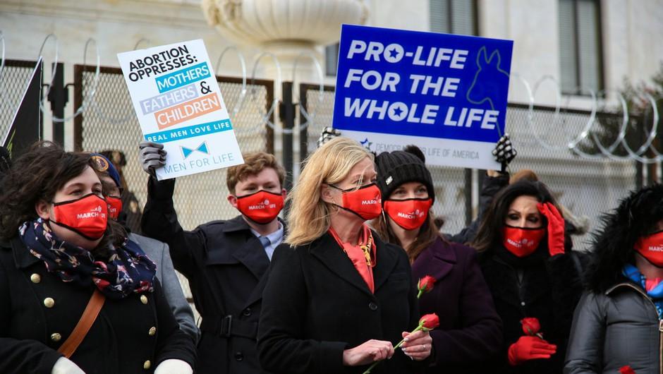 Še ena zvezna država v ZDA na poti do prepovedi splava, zadnjo besedo bo imelo vrhovno sodišče (foto: Profimedia)