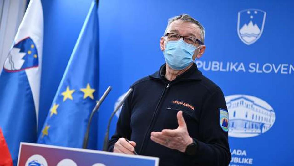 Civilna zaščita je v drugem valu epidemije usmerjena kadrovski in materialni podpori zdravstvu (foto: STA/Tamino Petelinšek)