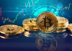 Bitcoin že čez 54.000 dolarjev, njegova tržna kapitalizacija dosegla 1000 milijard dolarjev