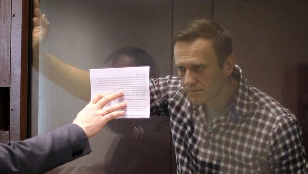 Navalnemu zavrnili pritožbo in ga obsodili še zaradi obrekovanja (foto: profimedia)