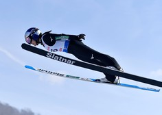 Slovenija druga na ekipni tekmi svetovnega pokala v smučarski skokih