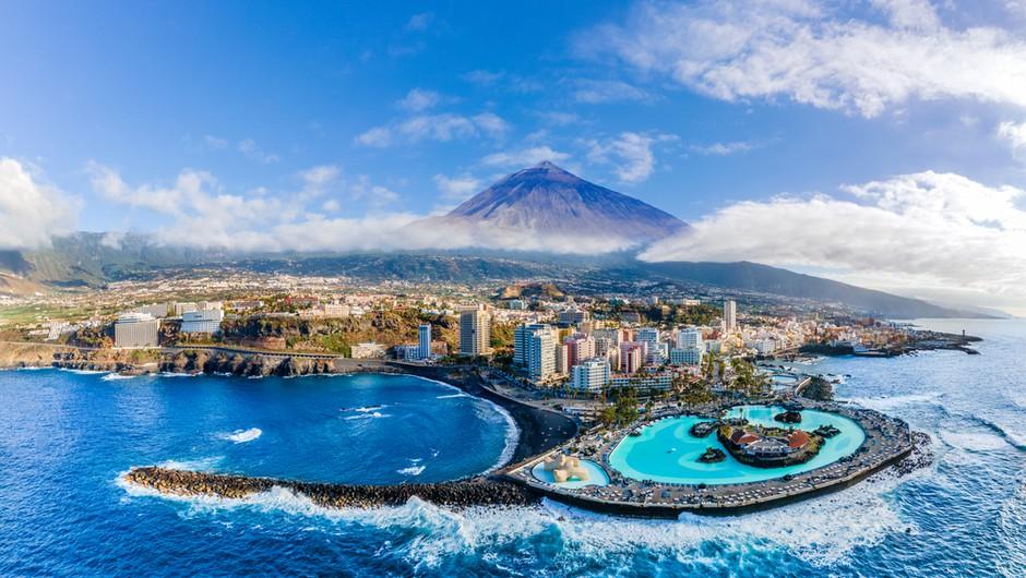 Danes z Brnika po dolgem času čarter s 180 Slovenci na Tenerife. Prosta mesta so bila razprodana takoj. (foto: Shutterstock)