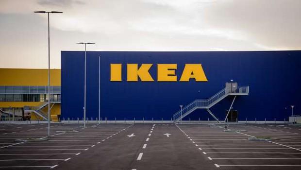 V ljubljanski Ikei še zadnje priprave na četrtkovo odprtje (foto: Nebojša Tejić/STA)