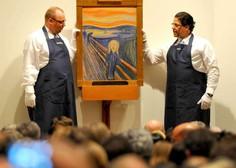 Skrivnostni napis na Munchovi sliki Krik je zapisal umetnik sam