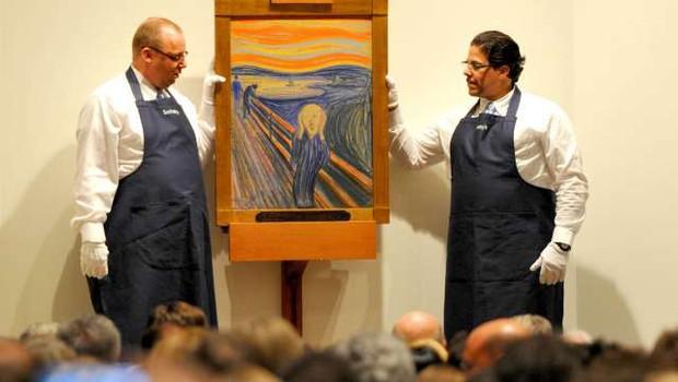 Skrivnostni napis na Munchovi sliki Krik je zapisal umetnik sam (foto: Xinhua/STA)
