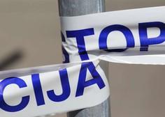 Pred eno od grosupeljskih trgovin 48-letnik streljal s plinsko pištolo