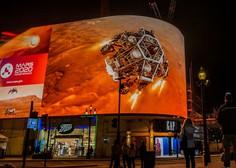 Videoposnetek dramatičnega pristanka roverja Perseverance na Marsu